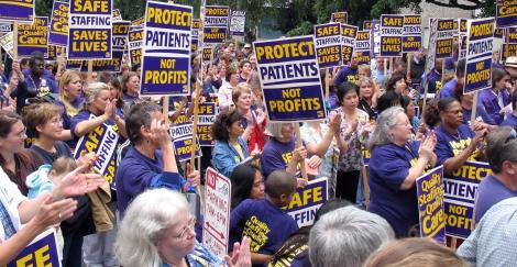 1199seiu-nurses-rally